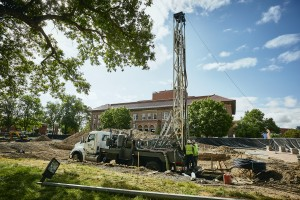 Well Drilling For American Indian Hall